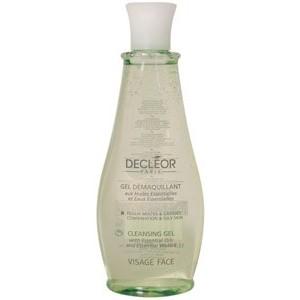 Decleor gel demaquillant aux huiles essentielles 400 ml